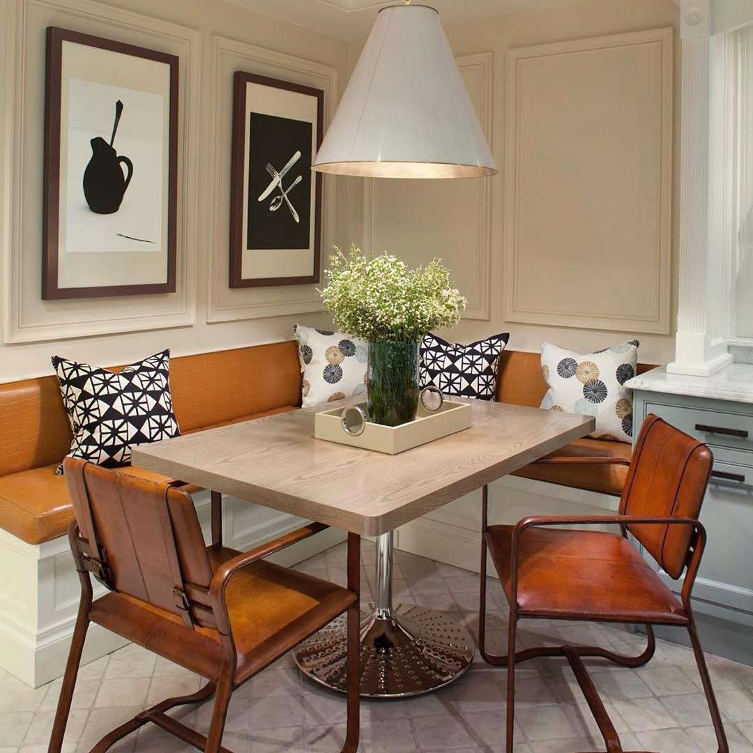 Breakfast nook with seating