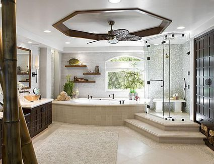 modern bathroom decor