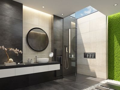 Why Black And White Bath Tile Is The Hottest Design Trend