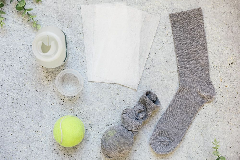Materials for washing a down comforter