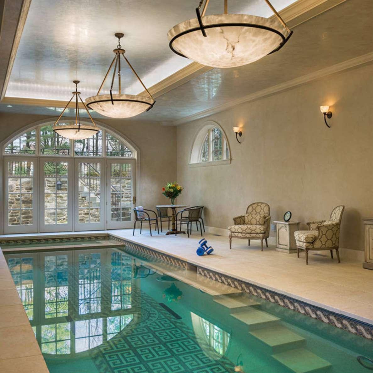 classic-style indoor pool