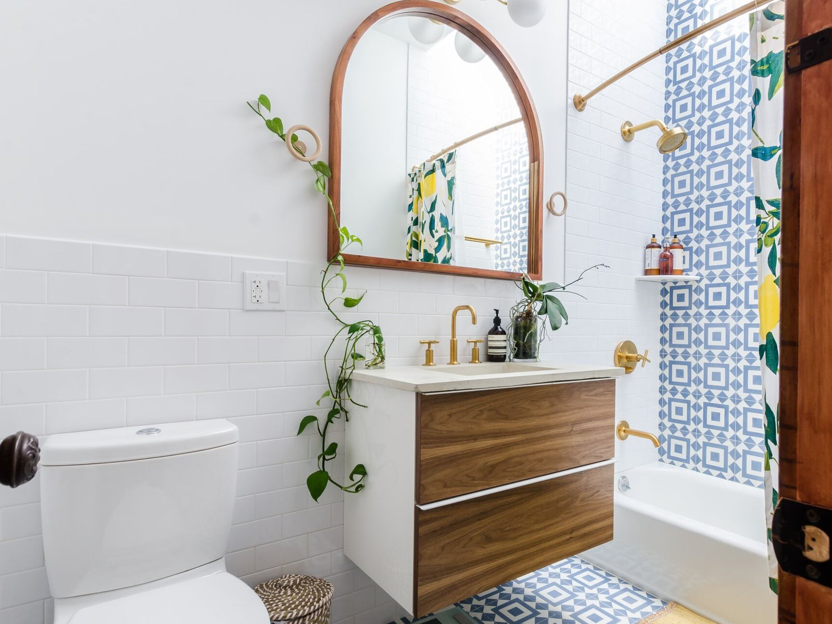 7 Tiny Bathrooms B With Stylish, Small Bathroom Toilets