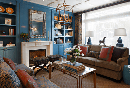 Blue Living Room Ideas Unique Blue Living Room Designs