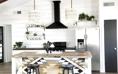 Rustic Modern Farmhouse Design Ideas