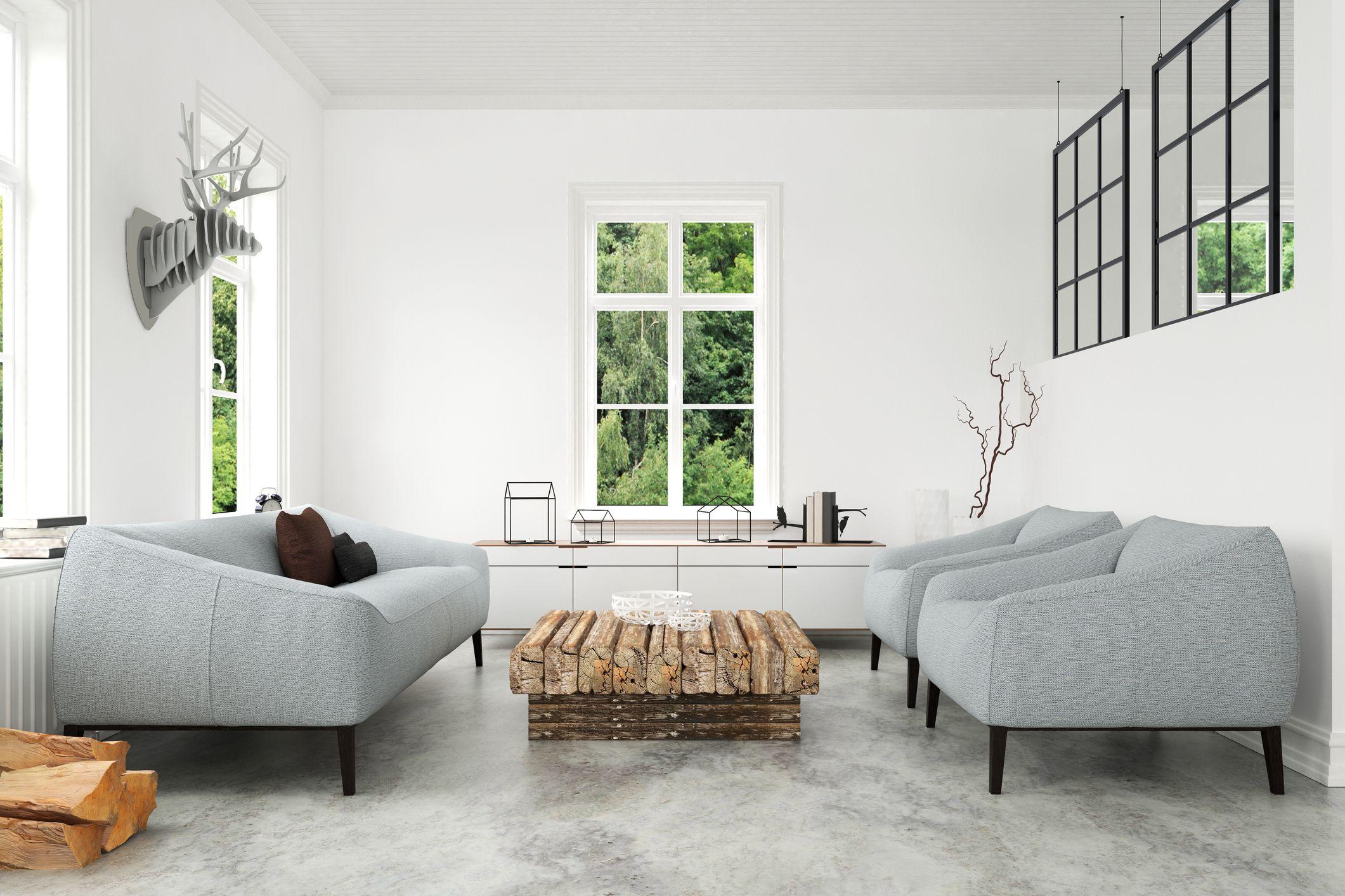 11 Creative Treatments for Concrete Floors