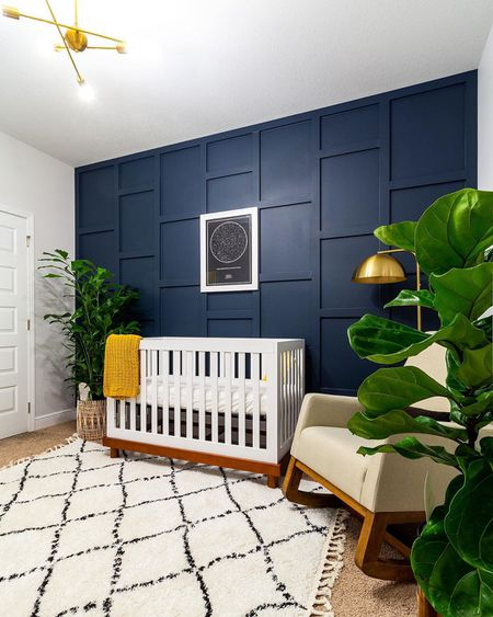 Beautiful Blue Nursery Ideas For Boys