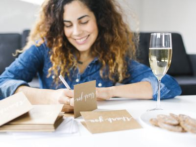 tips on writing bridal shower thank you notes