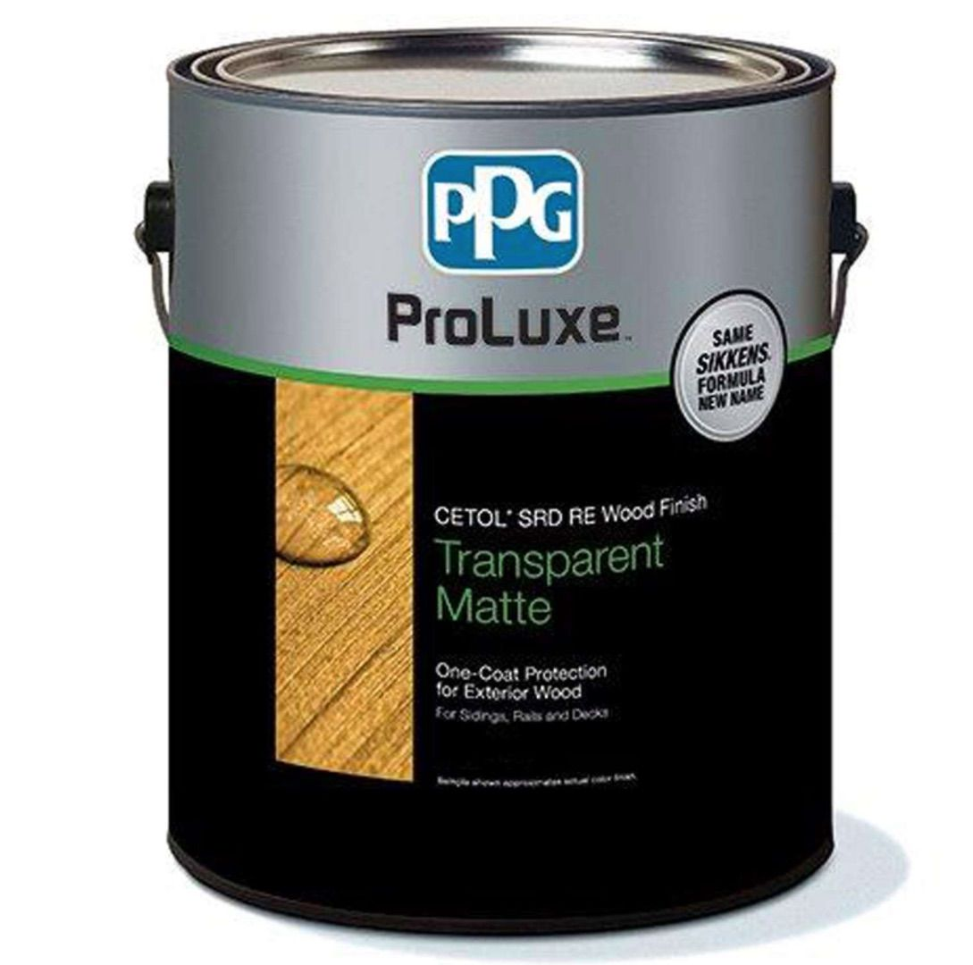 Sikkens ProLuxe Cetol SRD RE Transparent Matte Natural Oil-Based Oil-Based All-in-One Stain