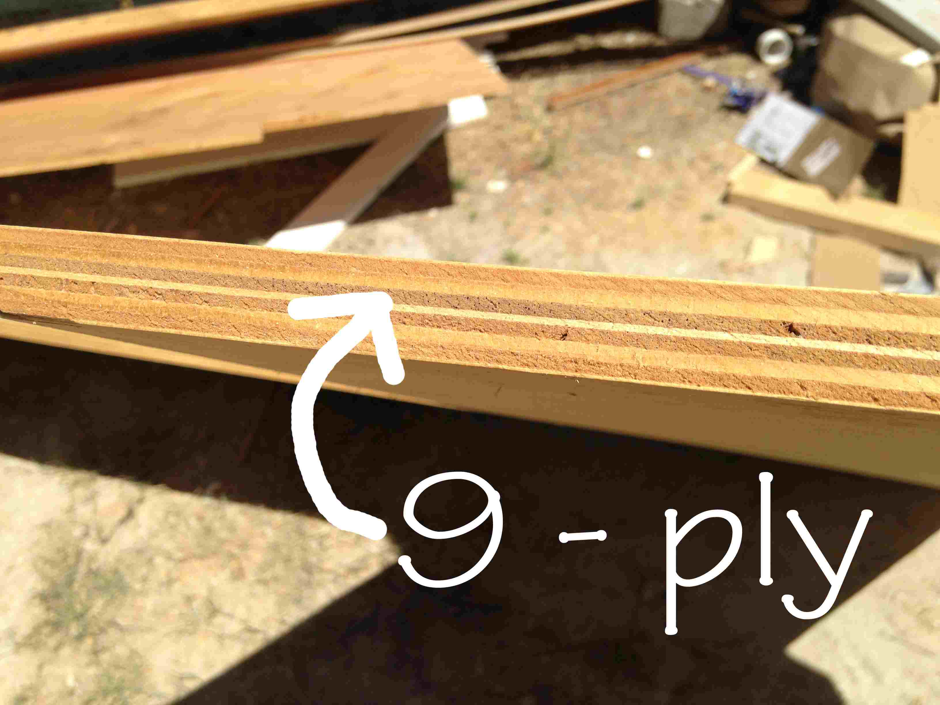 Particleboard Versus Plywood Cabinet Box Construction