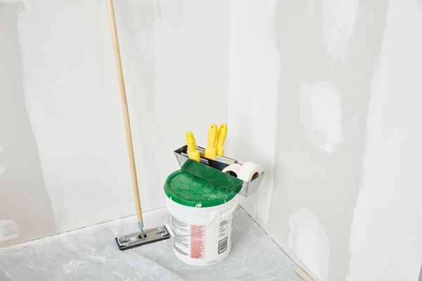 drywall and tools