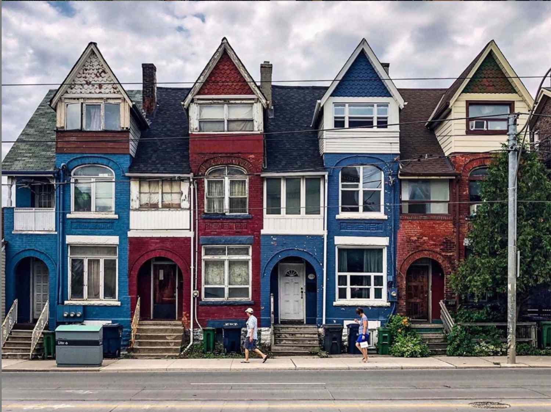 casas victorianas adosadas