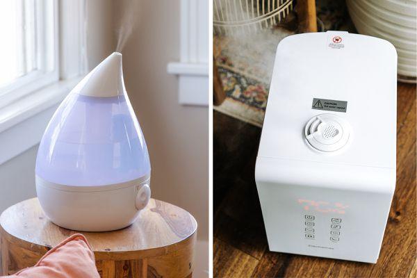 ultrasonic and evaporative humidifiers