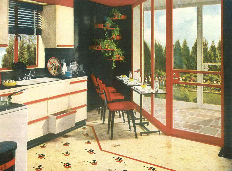 43933981f19e84 1940s Home Style - Kitchen Decor
