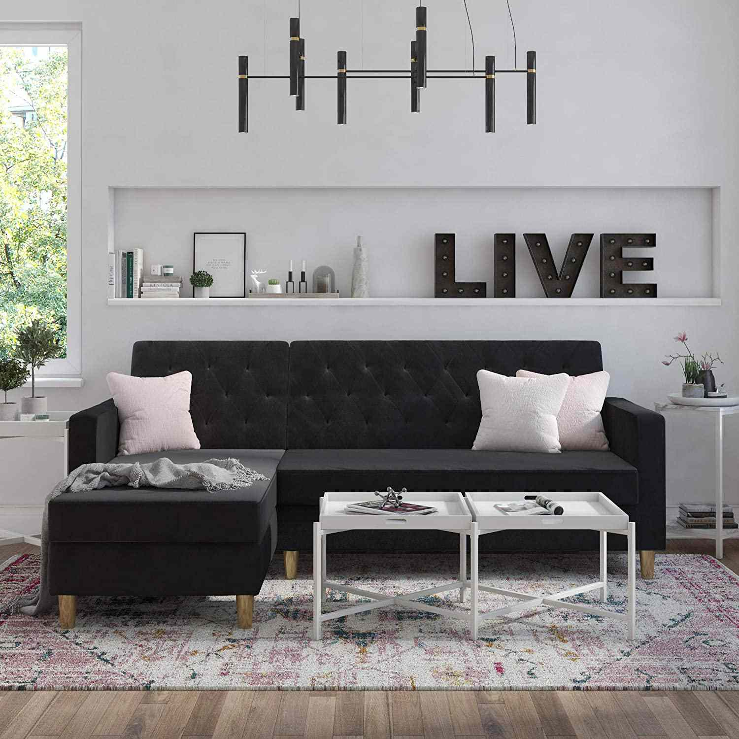 CosmoLiving by Cosmopolitan Liberty Sectional Storage Futo
