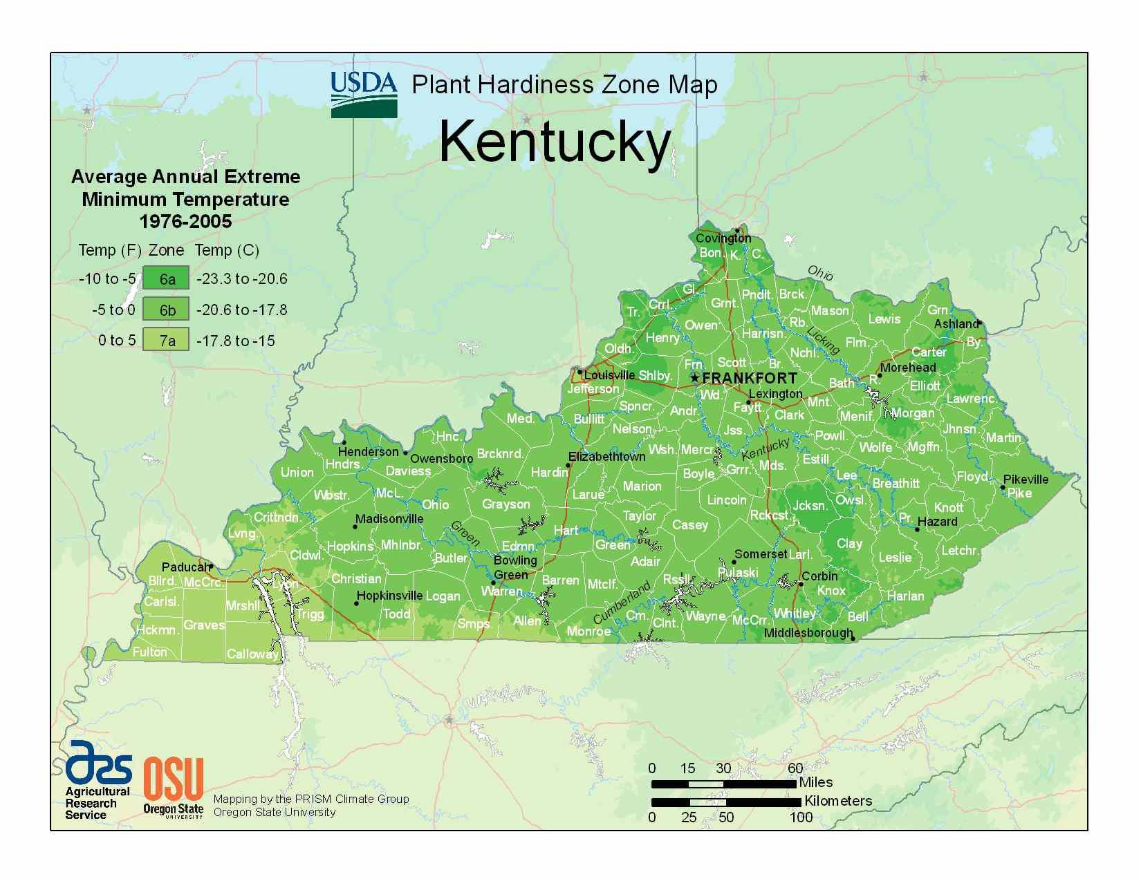 Photo of Kentucky Hardiness Zones