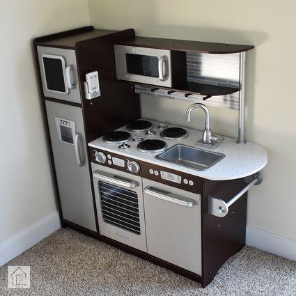 KidKraft Uptown Espresso Play Kitchen
