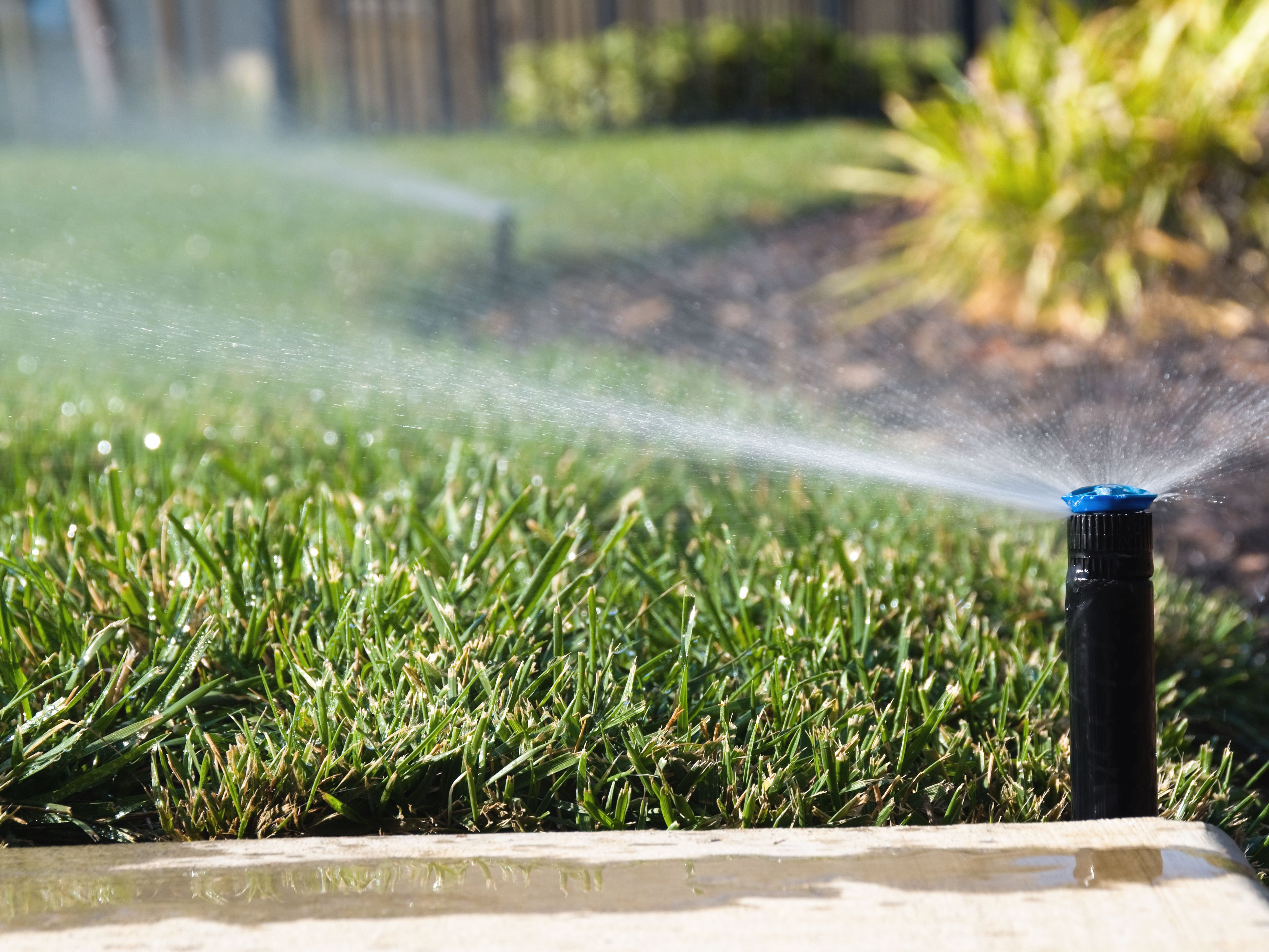Turning A Lawn Sprinkler System Back On