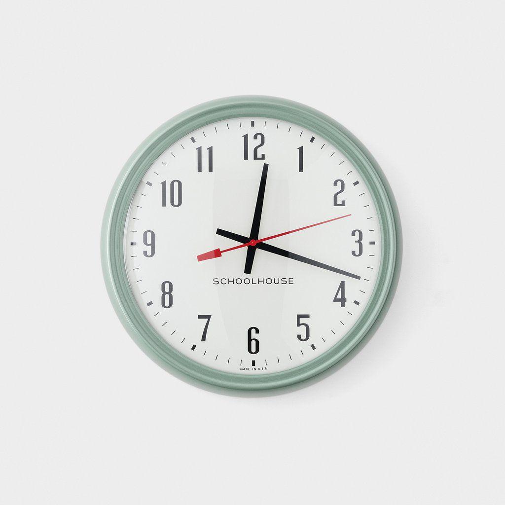 Schoolhouse Tanker Clock