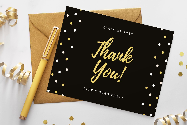 5 Free Printable Graduation Thank You Cards