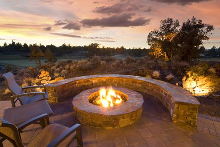14 Stone Fire Pits To Spark Ideas