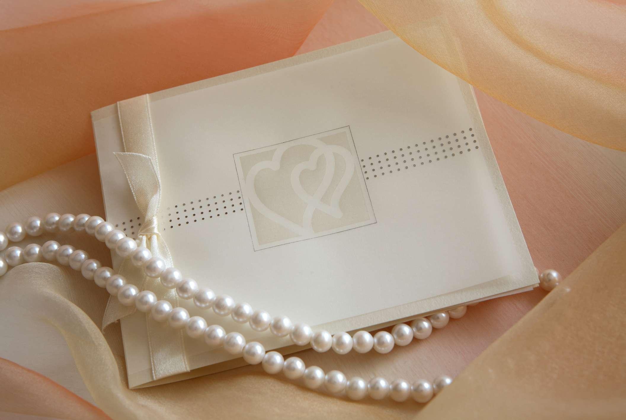 Pearl invitation
