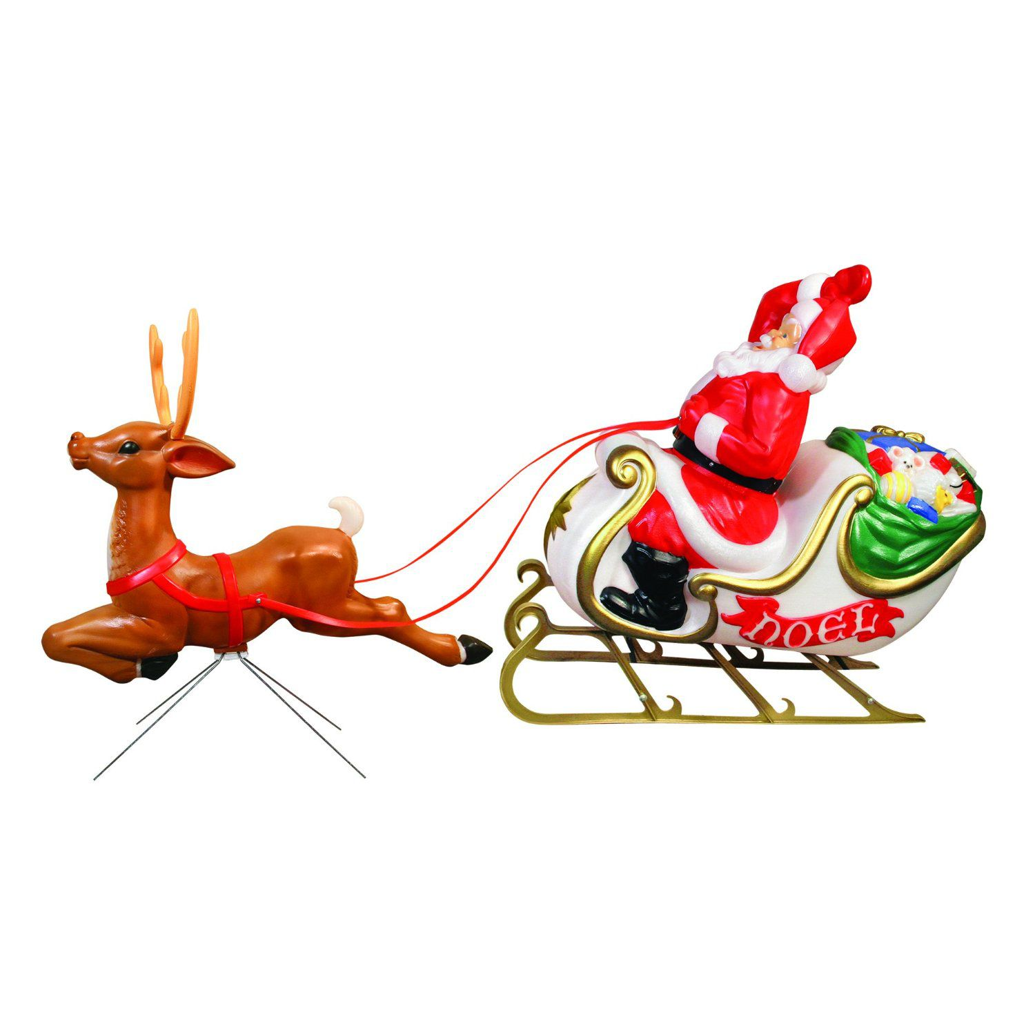 The Best Lighted Mold Christmas Decorations
