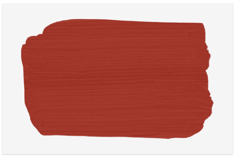 Benjamin Moore Smoldering Red swatch