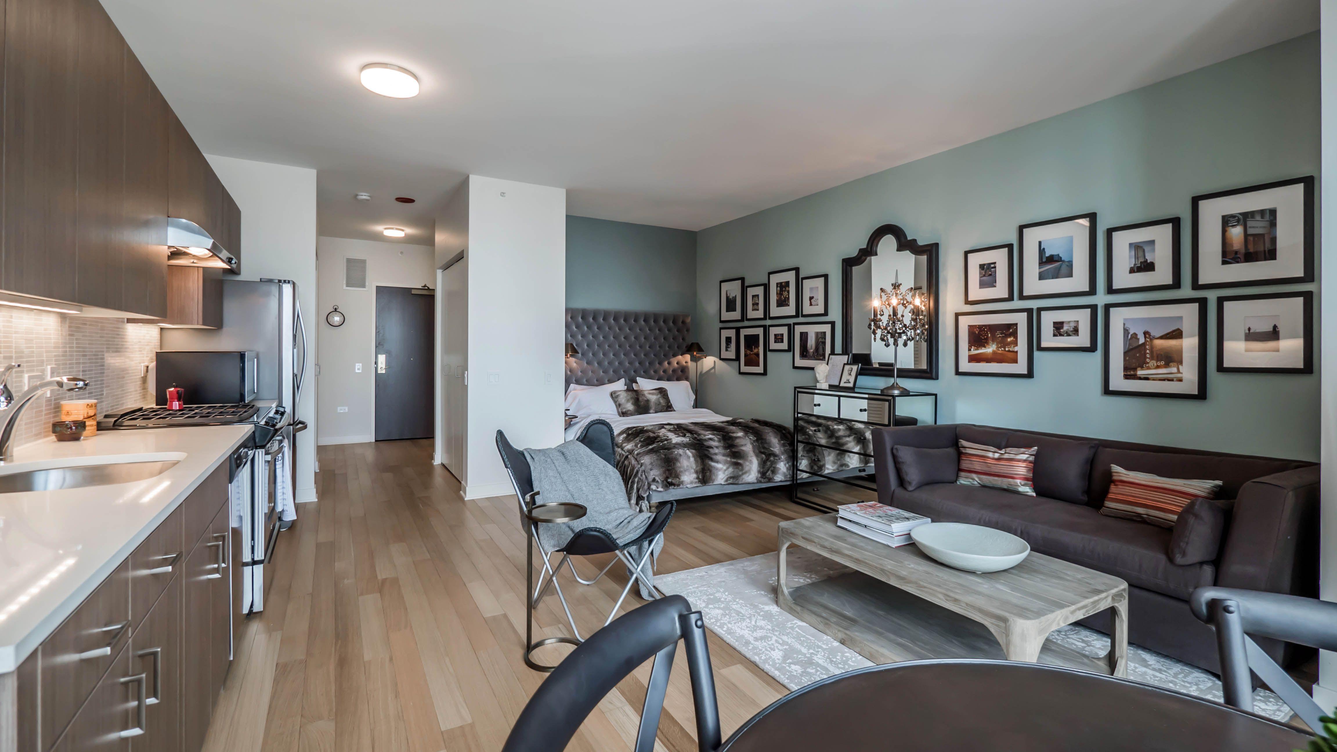 Chicago studio apartment