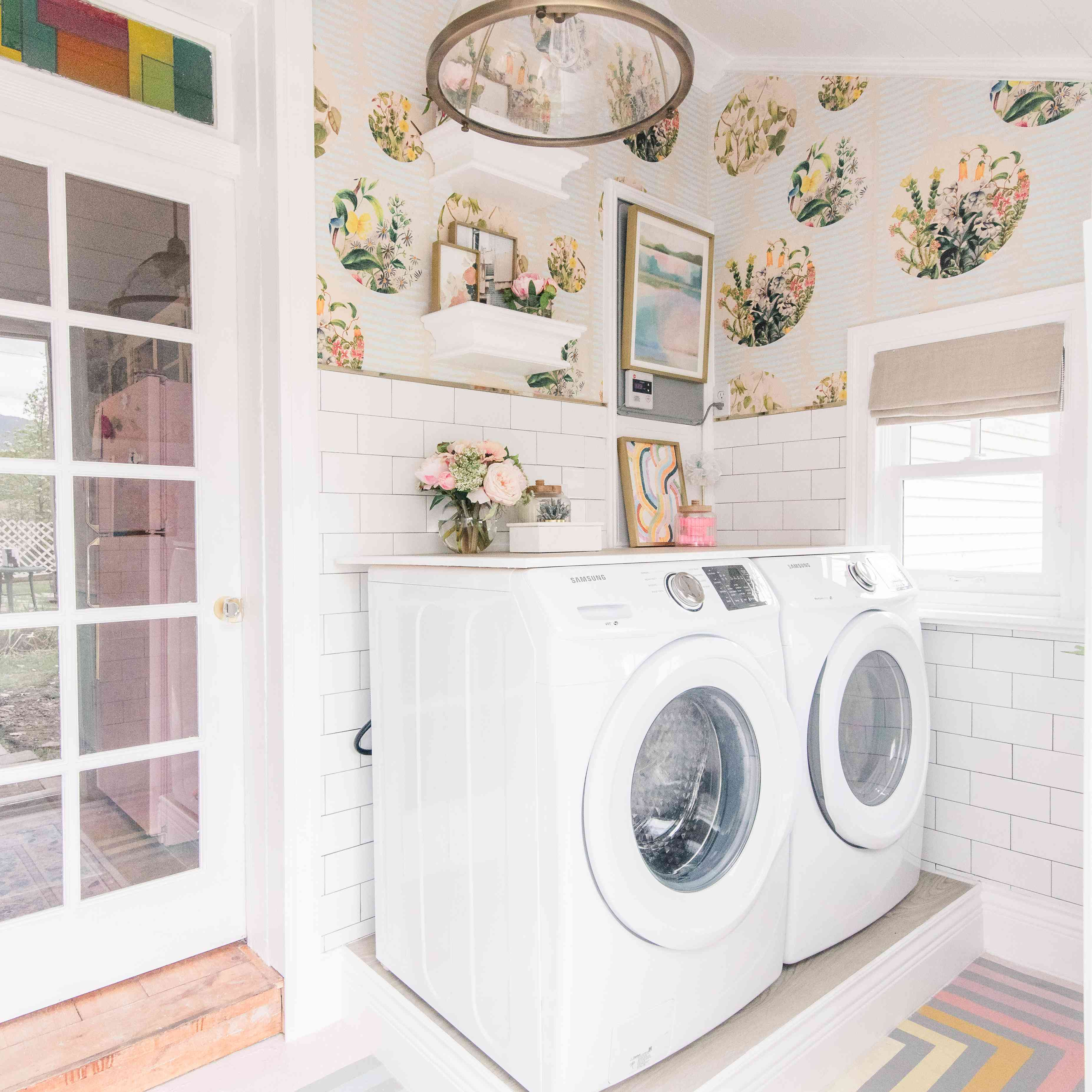 Laundry room makeover.