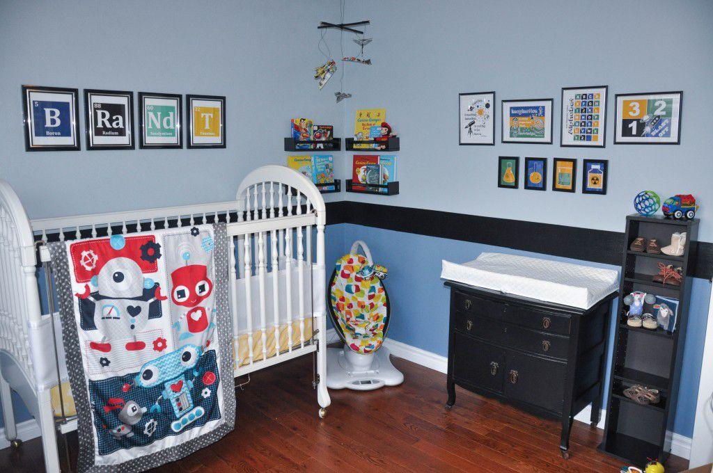 Science-themed nursery