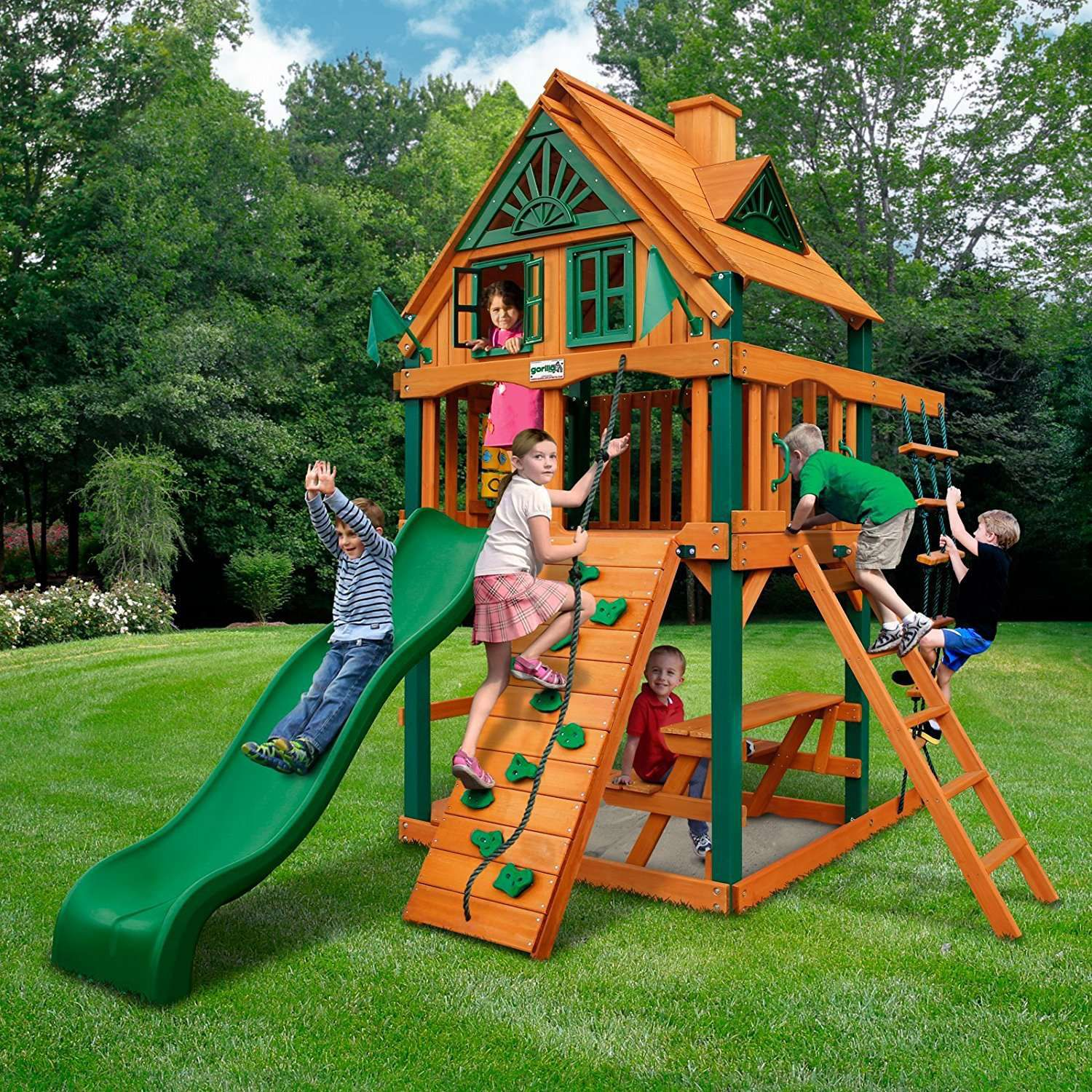 - The 8 Best Wooden Swing Sets And Playsets To Buy In 2018
