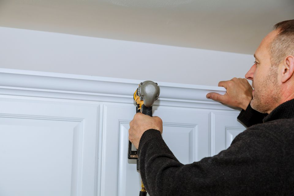 Crown Molding on Kitchen Cabinets