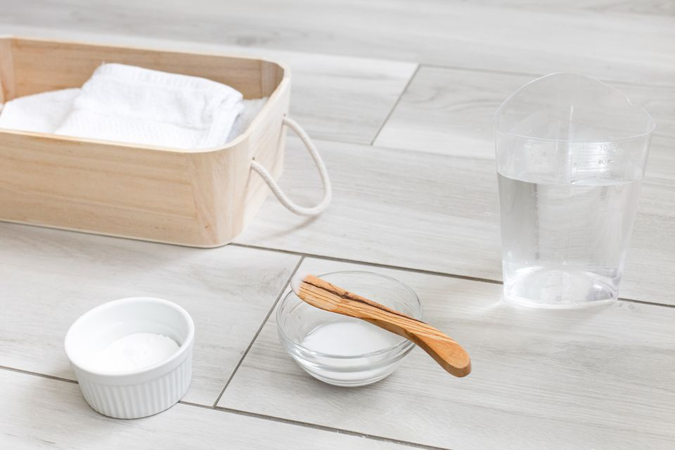 Baking soda for use in stain removal