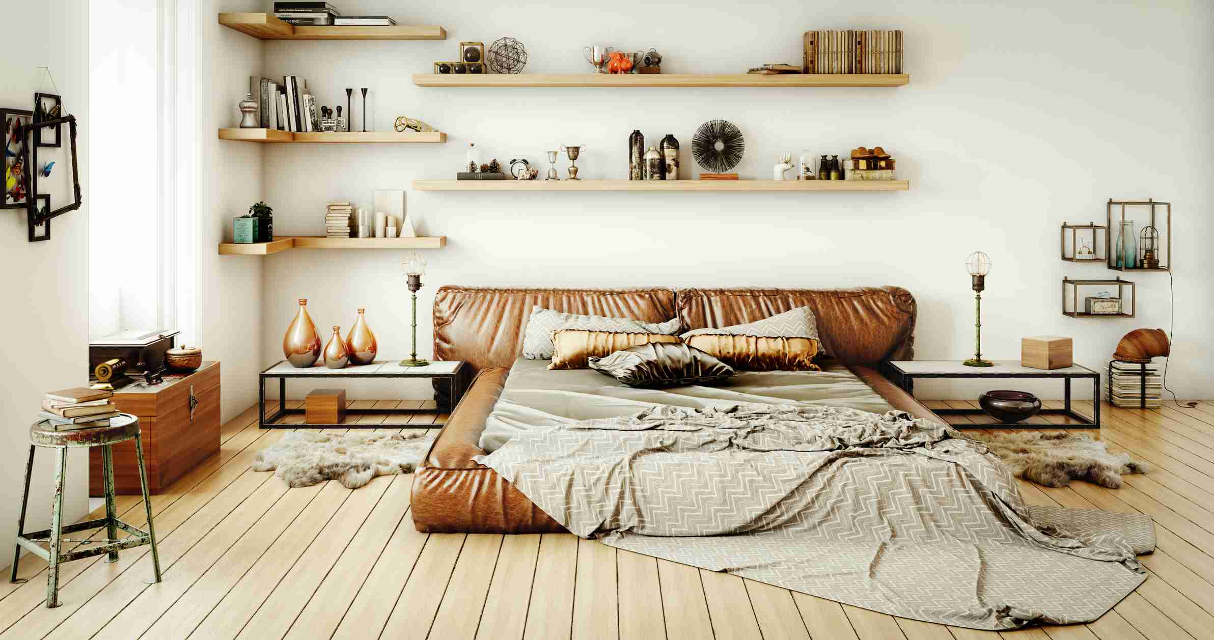 Neutral room with warm undertone