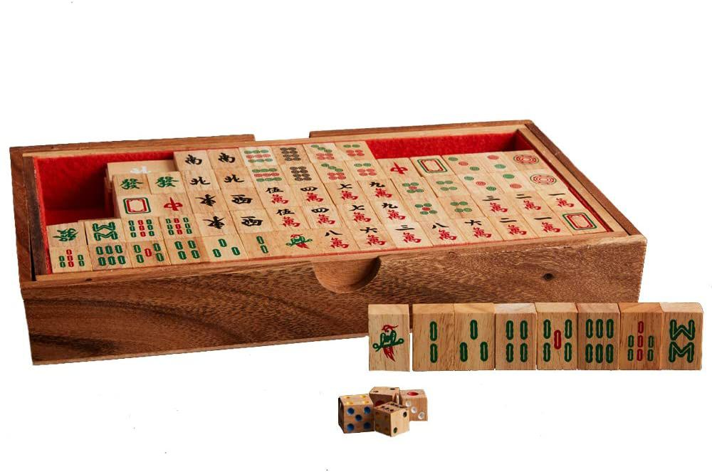 Thai Crafted Mahjong Set by Verve CULTURE