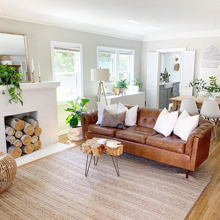 Brown Living Rooms That Prove It S A