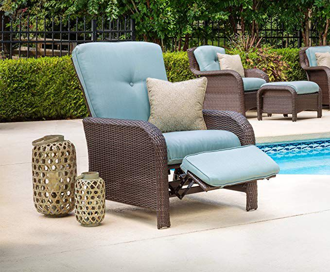 Best Overall Hanover Strathmere Outdoor Luxury Recliner