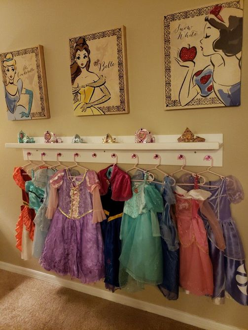 Disney Princess Dress-Up Station