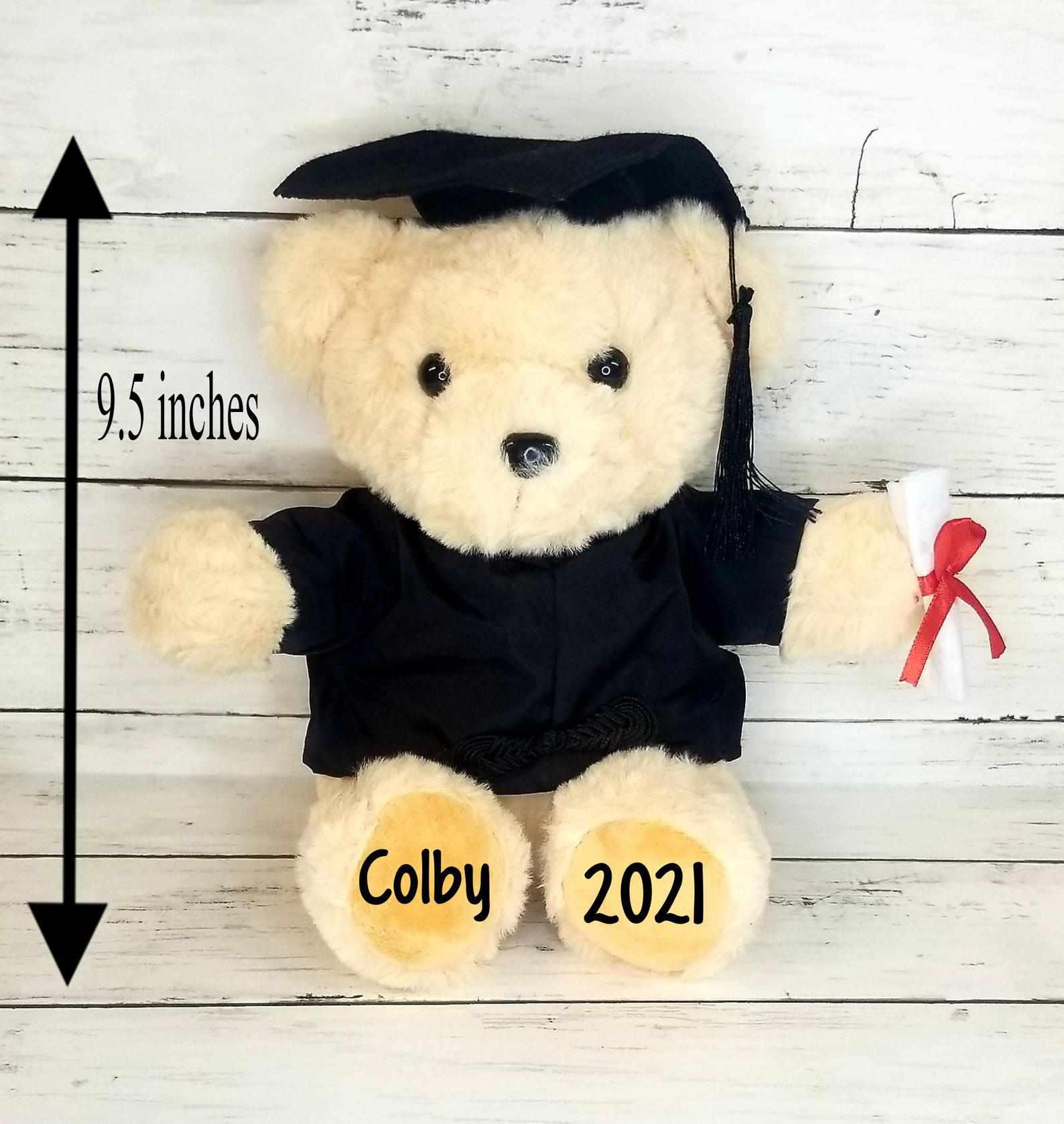 TheGiftChicks Personalized Graduation Bear