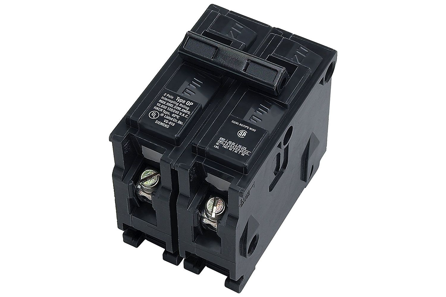 What Are Double Pole Circuit Breakers Wiring House Breaker