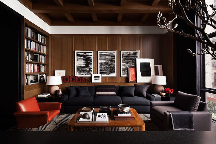 Wooden Wall Panelling Design