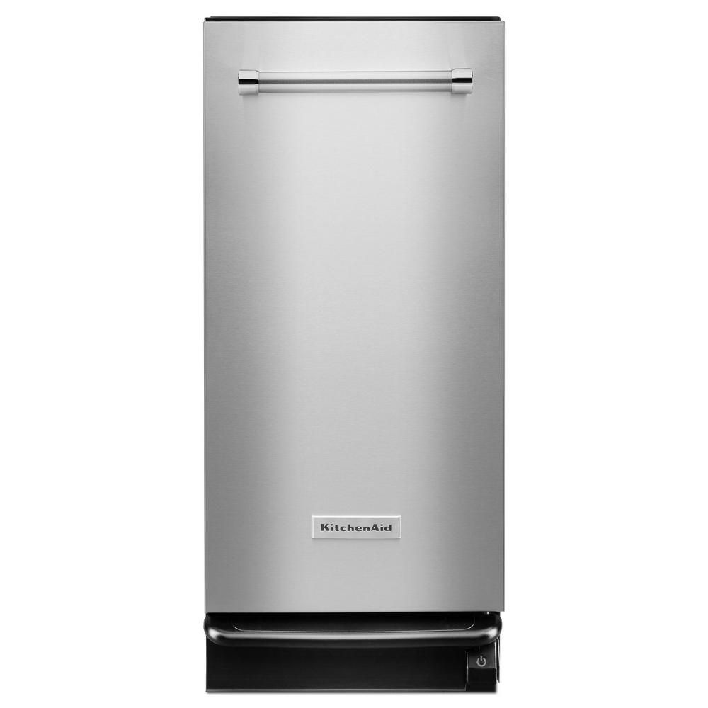 KitchenAid 15 in. Built-In Trash Compactor in Stainless Steel