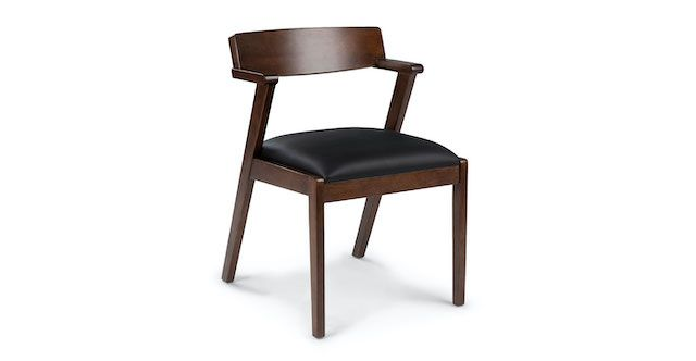 Article Zola Black Leather Chair