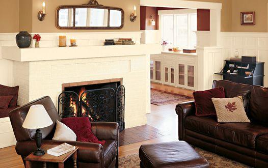 colores artesanales de sala de estar