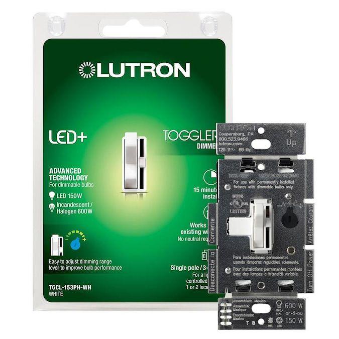 Lutron Toggler Single-Pole/3-Way Light Dimmer