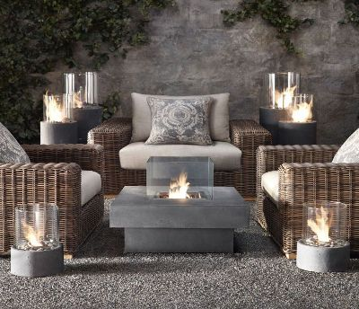 Laguna Fire Table - Restortaion Hardware