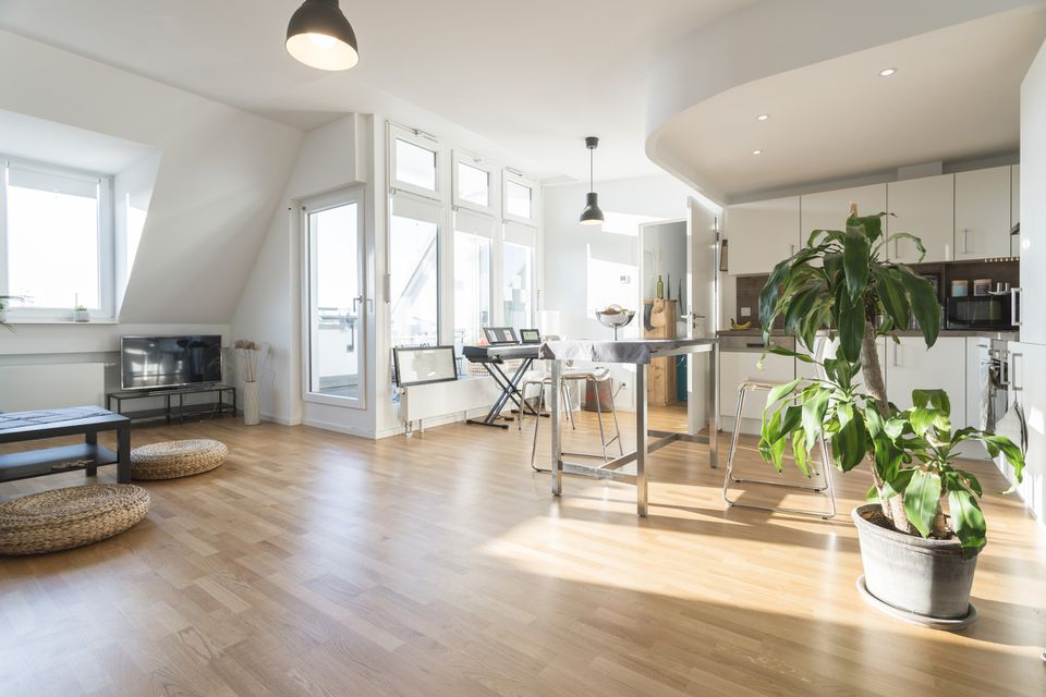 Interior of a modern apartment