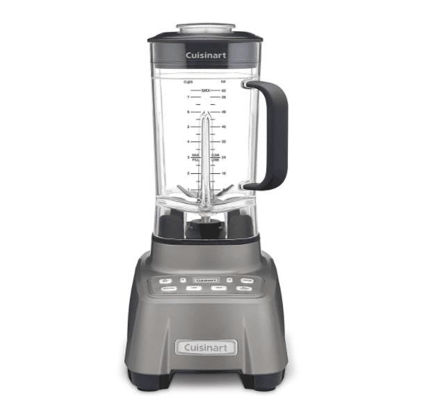 Cuisinart CBT-1500 Hurricane 2.25 Peak hp Blender, Gunmetal