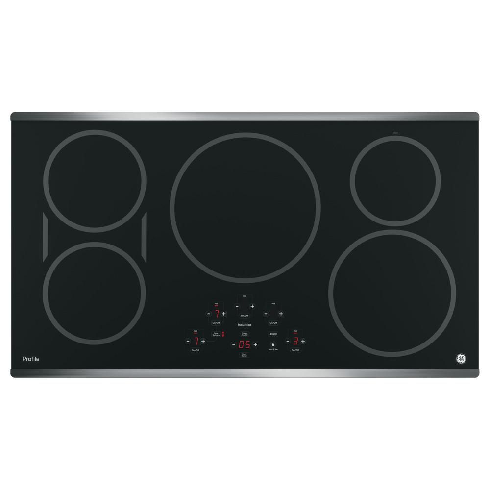 GE Profile 36 in. Electric Induction Cooktop