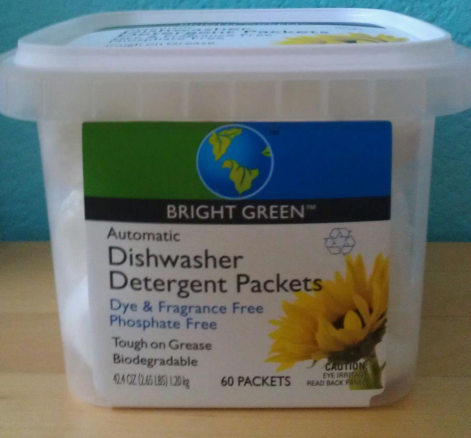 Safeway Bright Green Automatic Dishwasher Detergent Packets